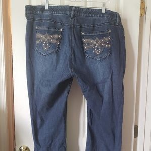 Apt 9 Jean's with stretch size 20